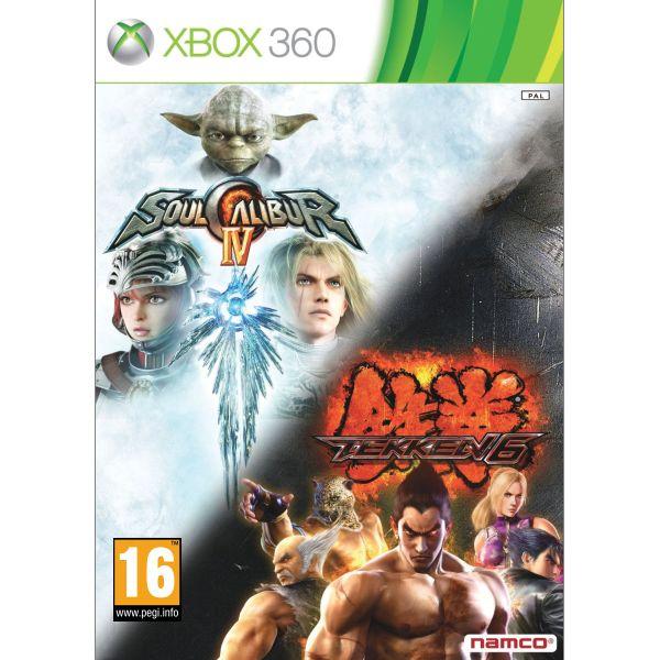 SoulCalibur 4 + Tekken 6 XBOX 360
