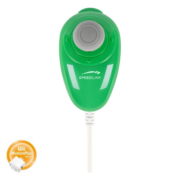 Speed-Link Bubble Chuk for Wii, green