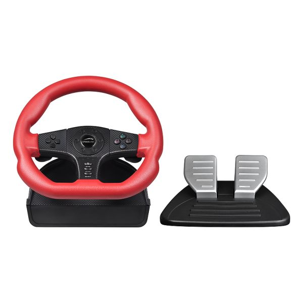 Speed-Link Carbon GT Racing Wheel for PS2/PS3