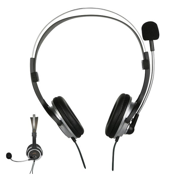 Speed-Link Chronos Stereo Headset, black-silver