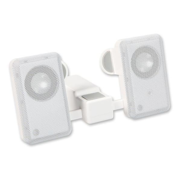 Speed-Link Compact MP3 Speakers, white