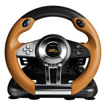 Speed-Link Drift O.Z. Racing Wheel for PS3, black-orange