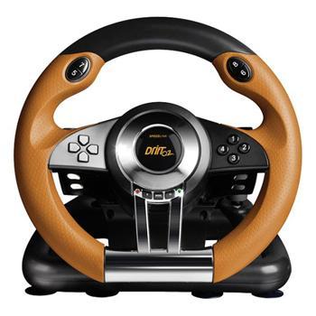 Speed-Link Drift O.Z. Racing Wheel PC, black-orange - OPENBOX (Rozbalený tovar s plnou zárukou)