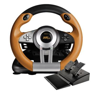 Speed-Link Drift O.Z. Racing Wheel PC, black-orange