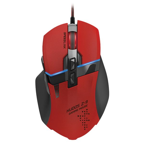 Speed-Link Kudos Z-9 Gaming Mouse, red