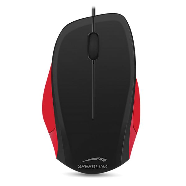 Speed-Link Ledgy Mouse wired, black-red