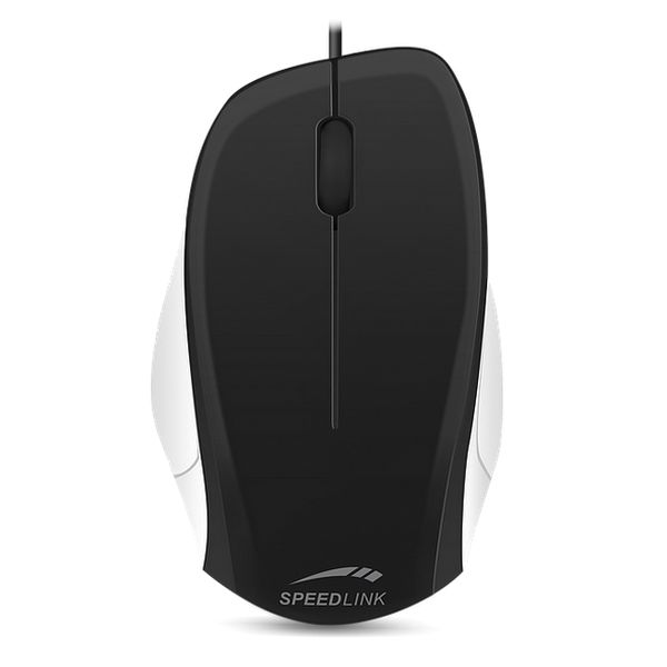 Speed-Link Ledgy Mouse wired, black-white
