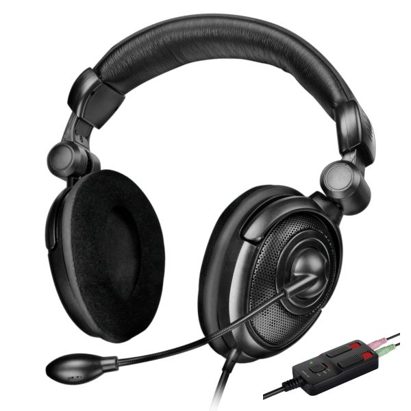 Speed-Link Medusa NX Core Gaming Stereo Headset for PS3, black