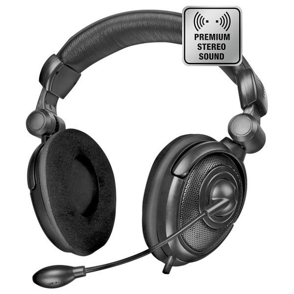 Speedlink Medusa NX Stereo Headset, black SL-8781-BK