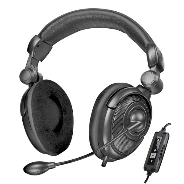 Speed-Link Medusa NX USB 7.1 Surround Headset, black