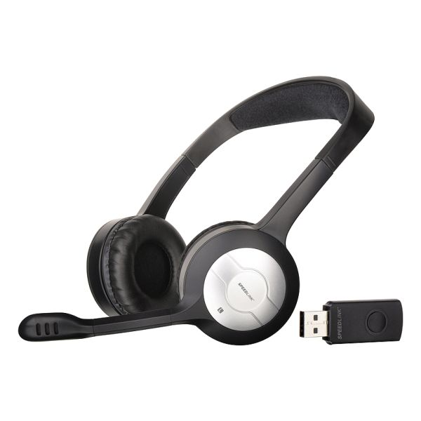 Speed-Link Metis Wireless Stereo Headset, black