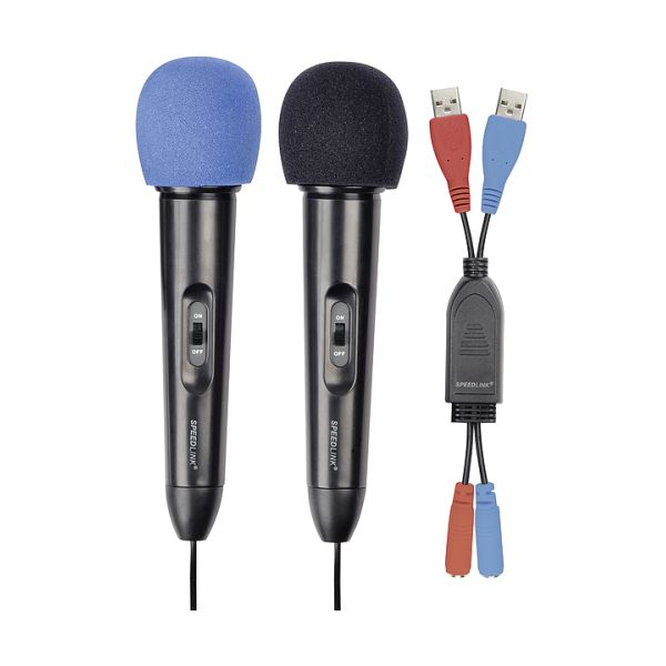 Speed-Link Microphone Set for Wii, black