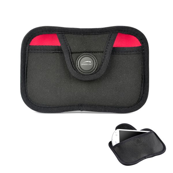 Speed-Link Neo Belt Bag for PSPgo, black & red