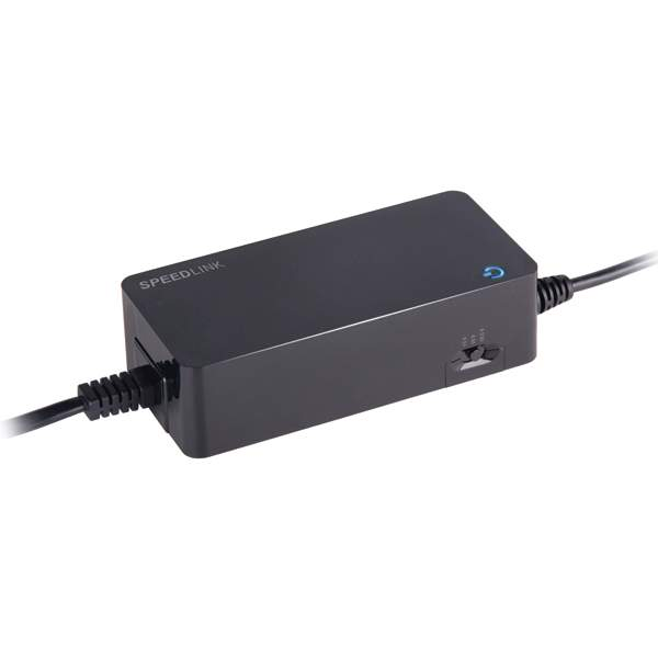 Speed-Link Pecos Universal 90W Notebook Power Adapter, black