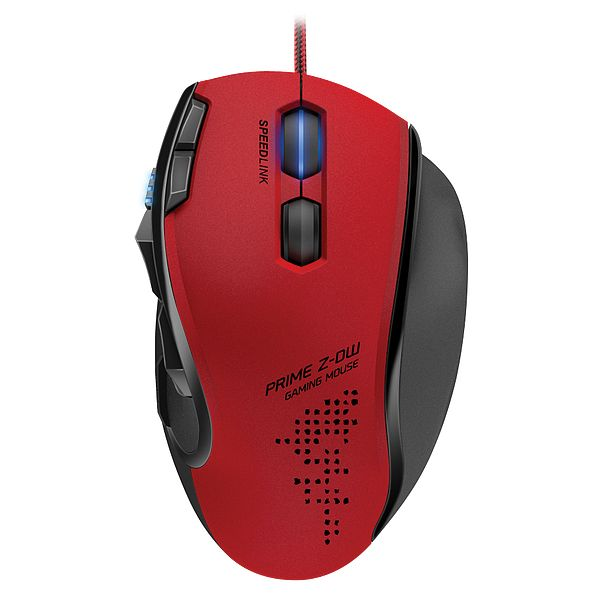 Speed-Link Prime Z-DW Gaming Mouse, red