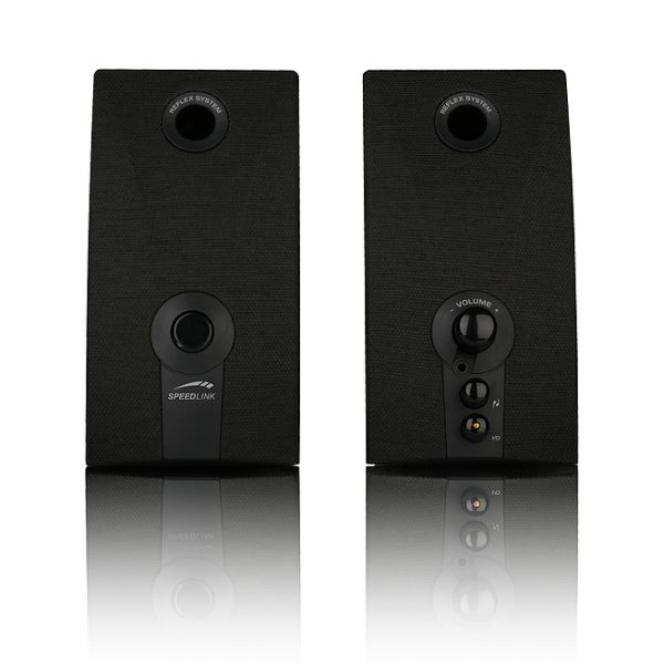 Speed-Link Reso Major Stereo Speakers, black