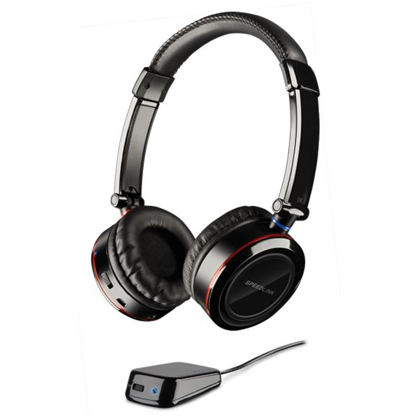 Speed-Link Scylla Wireless Console Gaming Headset for PS3/Xbox 360/PC, black