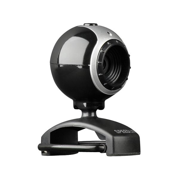 Speed-Link Snappy Smart PC & Mac Webcam, 350k Pixel, black