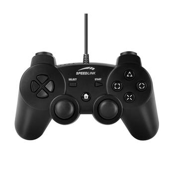 Speed-Link Strike FX Gamepad for PC & PS3, black