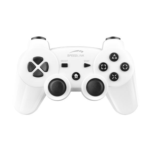 Speed-Link Strike FX Wireless Gamepad for PS3/PC, glossy white