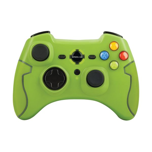 Speed-Link Torid Gamepad Wireless for PC/PS3, green