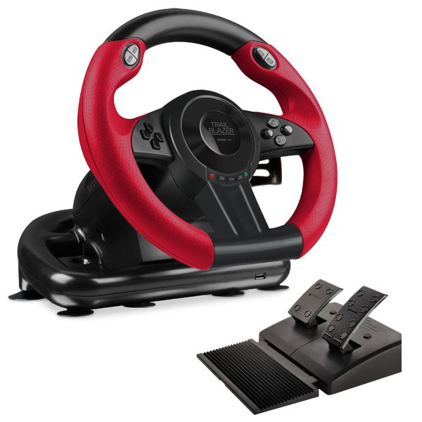 Speed-Link Trailblazer Racing Wheel for PS4/Xbox One/PS3/PC, black - OPENBOX (Rozbalený tovar s plnou zárukou)