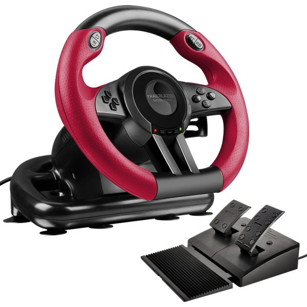 Speed-Link Trailblazer Racing Wheel for PS4/Xbox One/PS3/PC, black