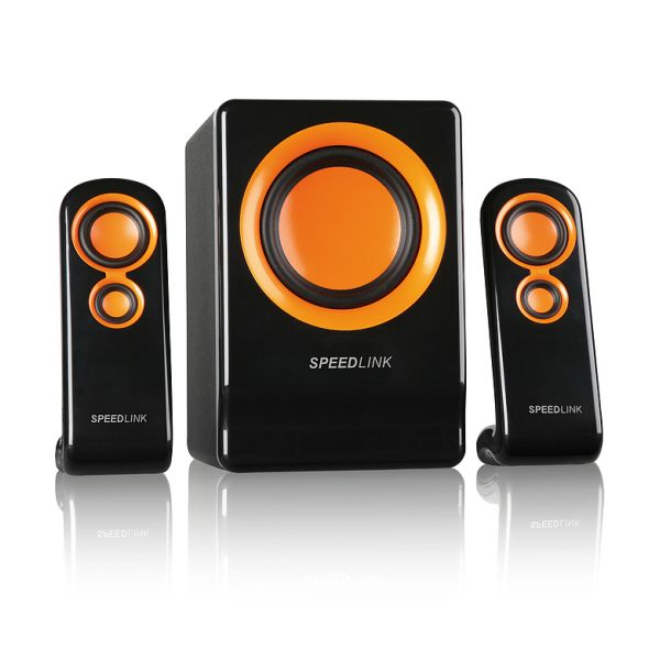 Speed-Link Vivente 2.1 Subwoofer System, black-orange