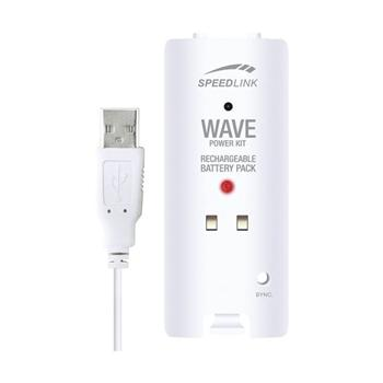 Speed-Link Wave Power Kit for Wii U/Wii, white