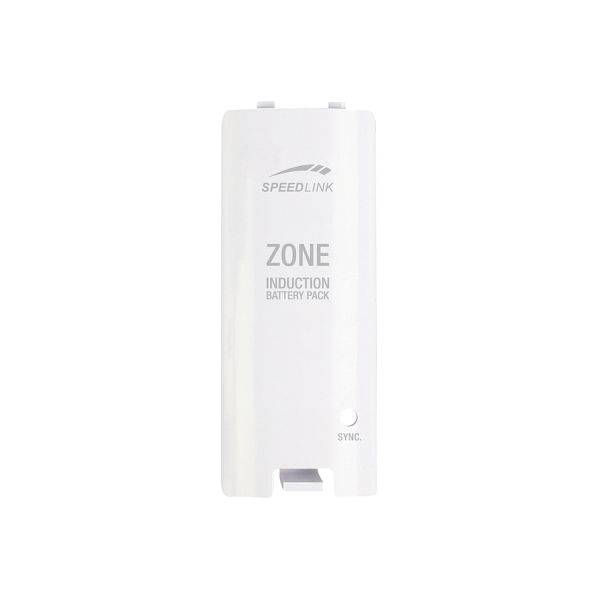 Speed-Link Zone Induction Battery for Wii U/Wii, white