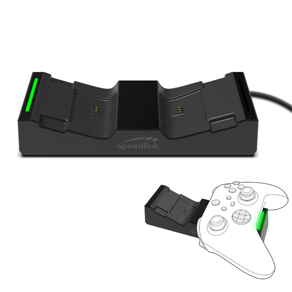 Speedlink Jazz USB Charger for Xbox Series X, black