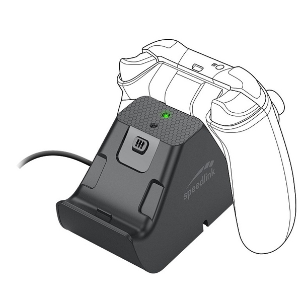 Speedlink Jazz USB Charger for Xbox Series X, Xbox One, black SL-260002-BK