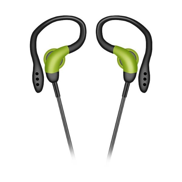 Speedlink Parcour In-Ear Sports Headset, black-green