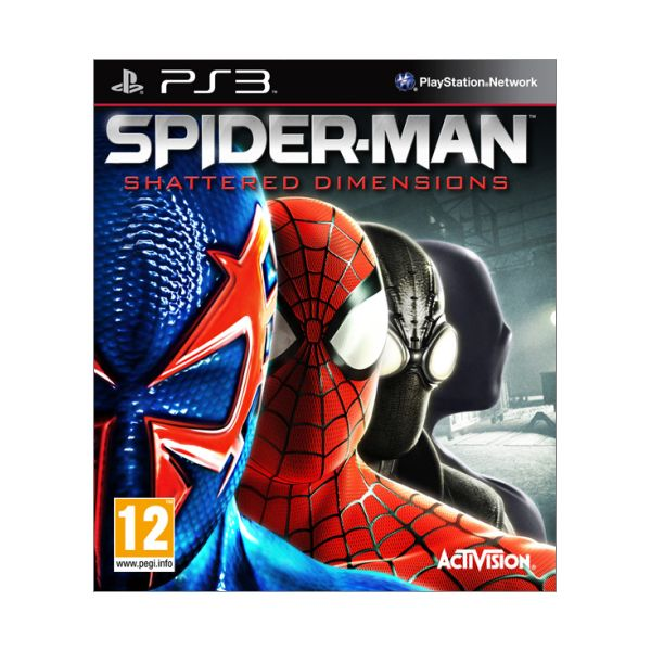 Spider-Man: Shattered Dimensions [PS3] - BAZ�R (pou�it� tovar)