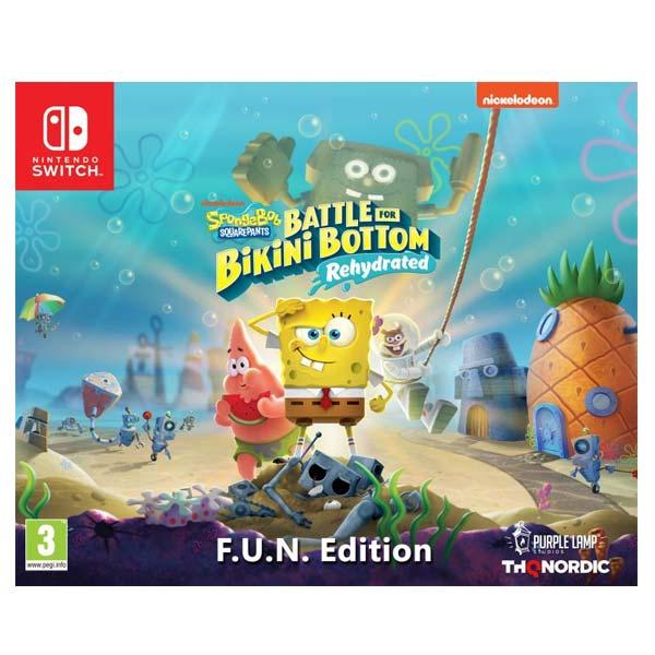 SpongeBob SquarePants: Battle for Bikini Bottom (Rehydrated, F.U.N. Edition)