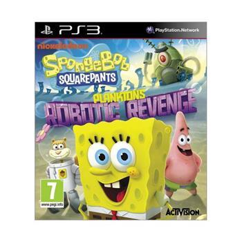 SpongeBob SquarePants: Plankton´s Robotic Revenge [PS3] - BAZÁR (použitý tovar)