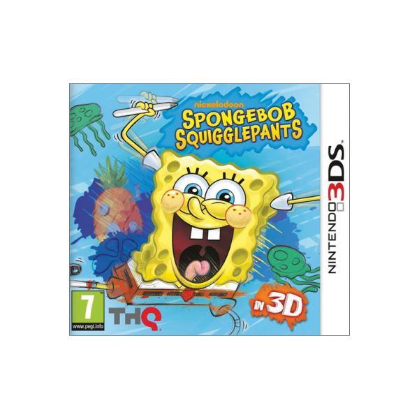 Spongebob Squigglepants in 3D