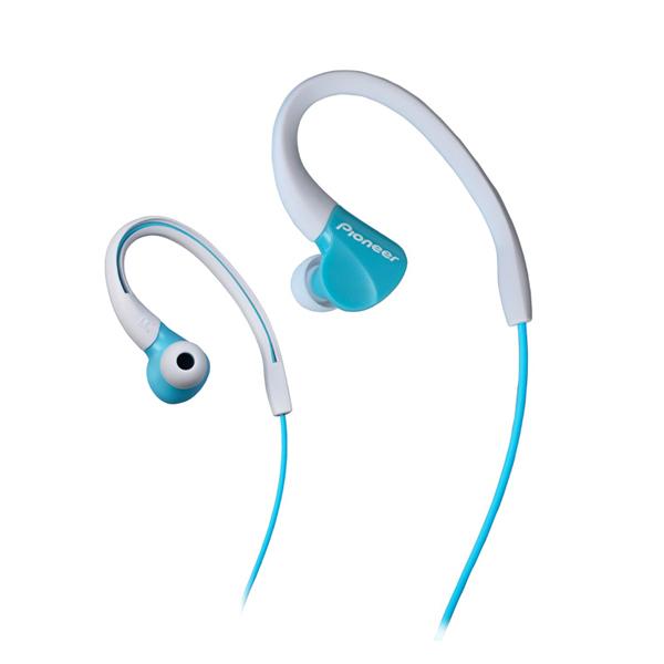 Športové slúchadlá Pioneer SE-E3, aqua