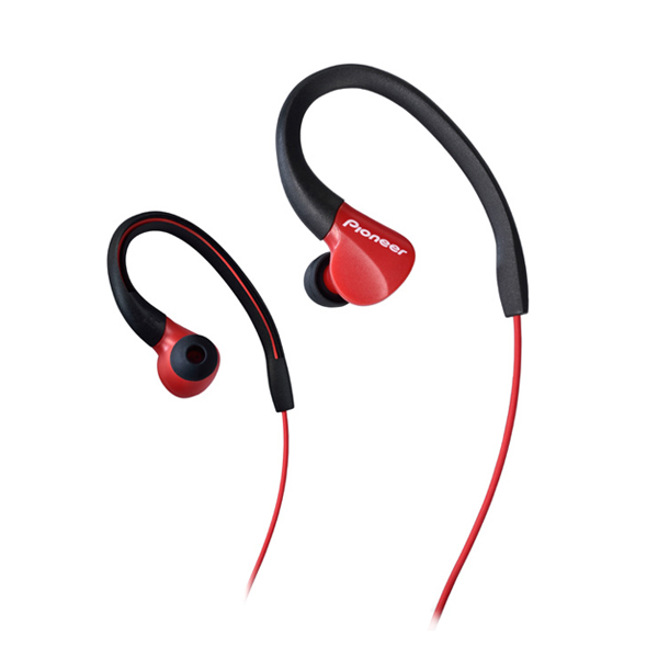 Športové slúchadlá Pioneer SE-E3, red