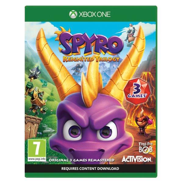 Spyro Reignited Trilogy [XBOX ONE] - BAZÁR (použitý tovar)