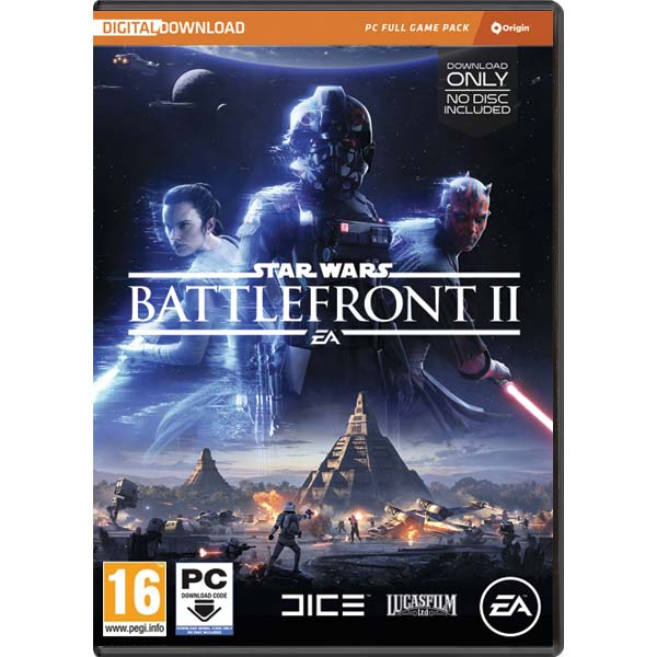 Star Wars: Battlefront 2 PC Code-in-a-Box CD-key