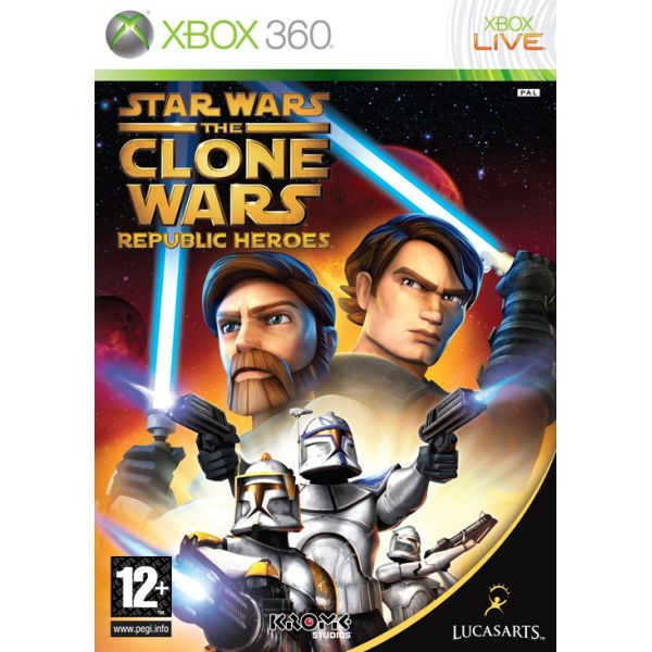 Star Wars The Clone Wars: Republic Heroes XBOX 360