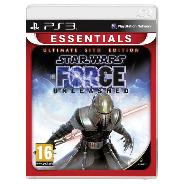 Star Wars: The Force Unleashed (Ultimate Sith Edition) [PS3] - BAZ�R (pou�it� tovar)