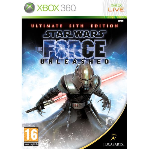 Star Wars: The Force Unleashed (Ultimate Sith Edition) XBOX 360