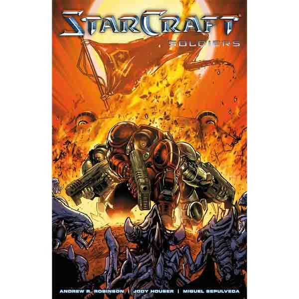 StarCraft 2 - Soldiers komiks