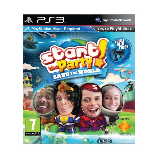 Start the Party! Save the World [PS3] - BAZÁR (použitý tovar)