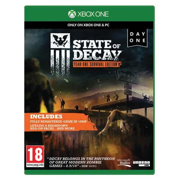 State of Decay (Year-One Survival Edition) [XBOX ONE] - BAZÁR (použitý tovar)