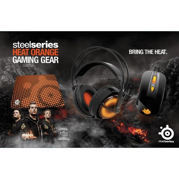 SteelSeries Heat Orange Bundle
