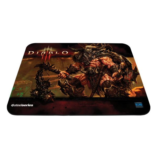 SteelSeries QcK Diablo 3 Barbarian Edition