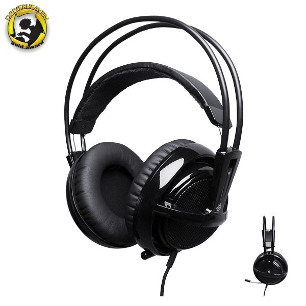 SteelSeries Siberia v2 Full-size Headset, black